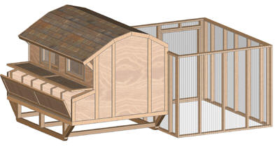 Chicken Coop Designs And Plans Image